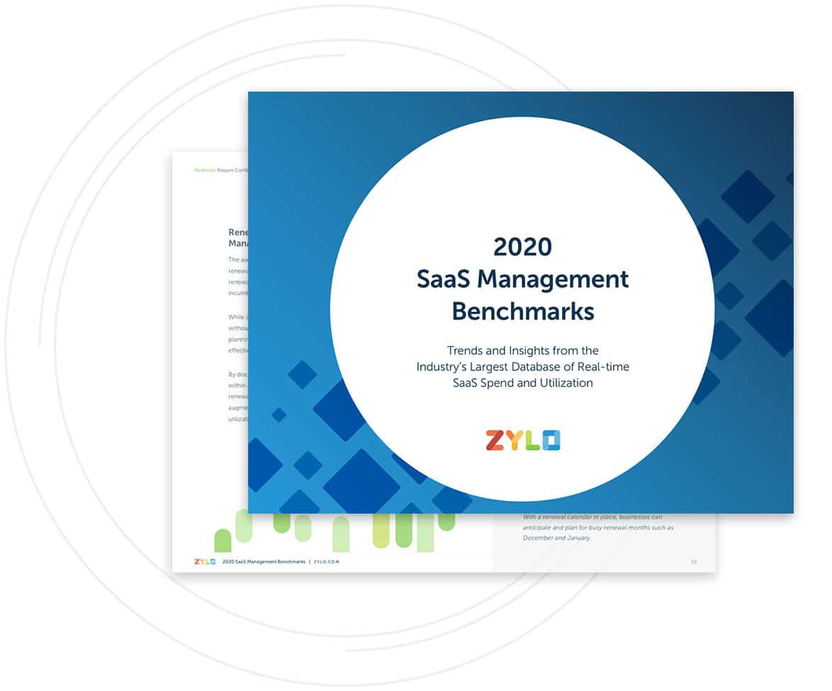 Get Your Copy of Zylo's 2020 SaaS Management Benchmarks Report