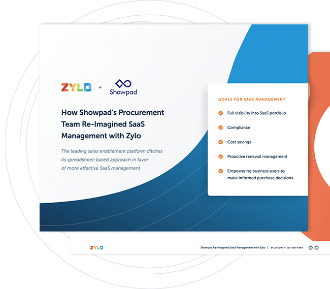 Get Your Copy of Showpad's Story: How Showpad's Team Re-Imagined SaaS Management with Zylo